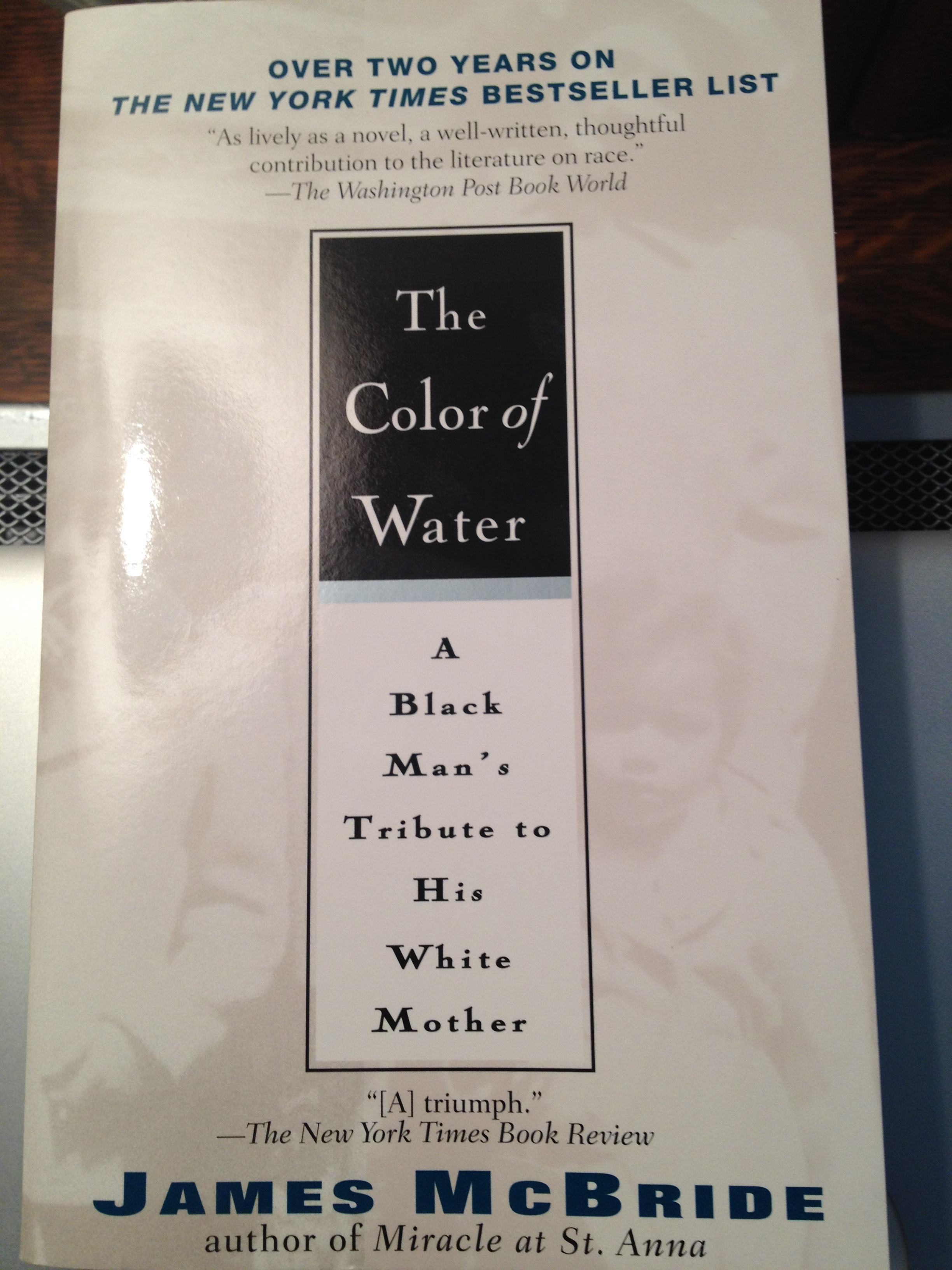 The Color Of Water Redux A Globby Bloogie By Lenore Look The Color Of Water Book