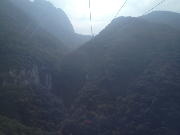 longest cable car ride in China