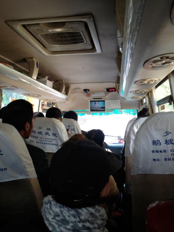 Dengfeng bus to Luoyang