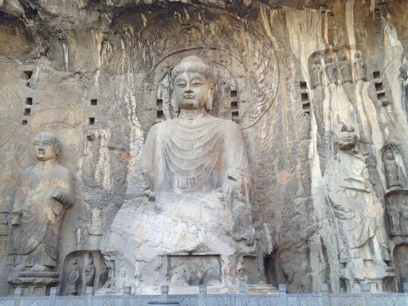 Vairocana Buddha in Fengxian Temple, Longmen Grottoes