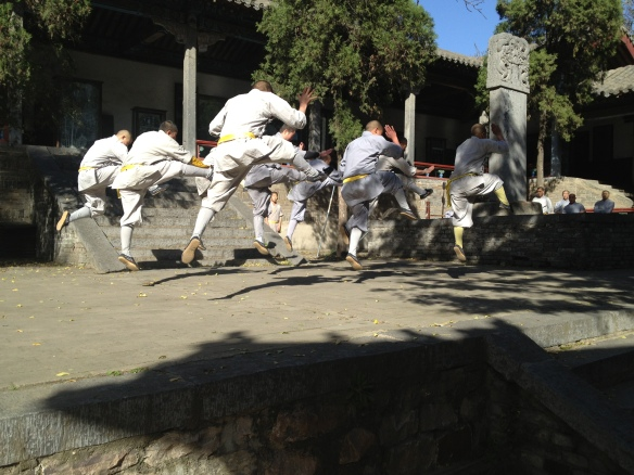 leaping warriors