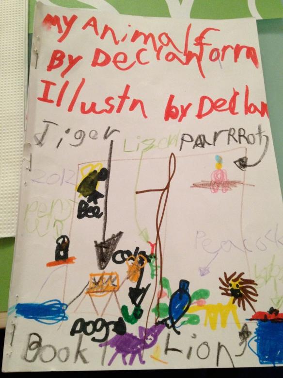 Declan's book